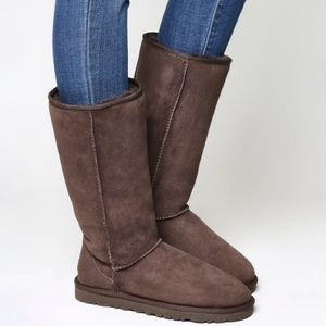 UGG Classic Tall Chocolate Brown Boots